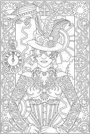 Kleurplaten Voor Volwassenen Carnaval