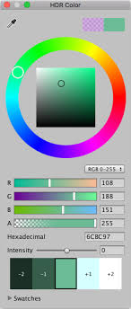 unity manual hdr color picker