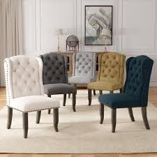 Buy Wingback Chairs Kitchen Dining Room Chairs Online At Overstock Our Best Dining Room Bar Furniture Deals