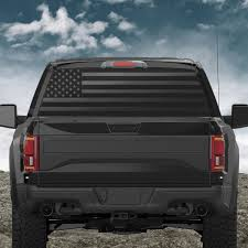 American Flag Back Window Decal Patriot99