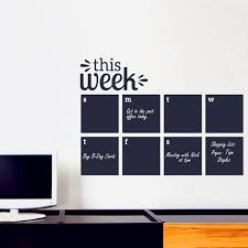 Cweekly Wall Planner Calendar Wall Decal Chalkboard Decals Blackboard Wall Sticker Office Study Ect Wall Art Decor Buy At The Price Of 9 88 In Aliexpress Com Imall Com