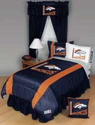 denver broncos 5pc twin bedding set