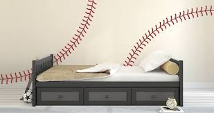 Baseball Stitches Wall Decals Dezign With A Z