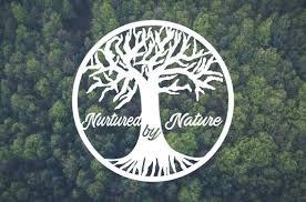 Nurtured By Nature Vinyl Decal Vinyl Sticker Car Window Etsy