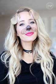 how to puppy dog makeup tutorial