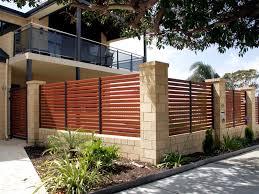 Unique Cool Fences For Modern House Givdo Home Ideas The Security Of Cool Fences For Modern House