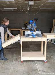 Easiest Diy Mobile Miter Saw Stand