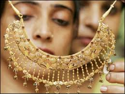 indian jewellery being showcased at las