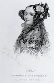 Ada King, Countess of Lovelace, c 1840. by Brown, Joseph at ...