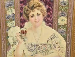 1903 HILDA CLARK COCA COLA ADVERTISING SIGN