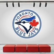 Toronto Blue Jays Logo Wall Decal Sports Sticker Decor Vinyl Mlb Cg079 Ebay