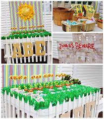Kara S Party Ideas Plants Vs Zombies Themed Birthday Party Ideas Decor Planning