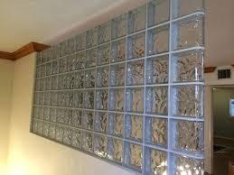 glass block interior wall ideas