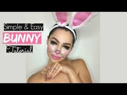 bunny makeup tutorial simple