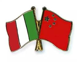 Image result for China Italy flags map friendship