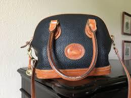 vintage dooney bourke satchel all