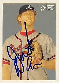 Dustin Evans autographed Baseball Card (Atlanta Braves) 2006 Bowman  Heritage #BHP80 at Amazon's Sports Collectibles Store