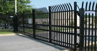 Fence Gate Design For The Home Or Business Long Fence