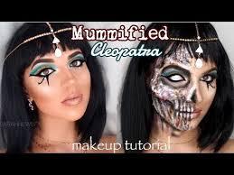 mummified cleopatra makeup