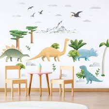 The Cutest Dinosaur Wall Stickers For Happy Kids Rooms Made Of Sundays