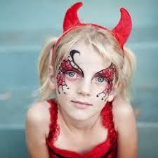 pin on angel devil facepaint