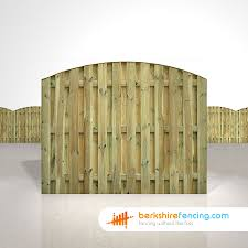 Double Sided Picket Fence Panels 5ft X 6ft Natural Berkshire Fencing