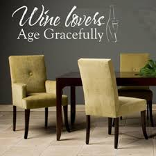 Wine Lovers Wall Decals Trading Phrases