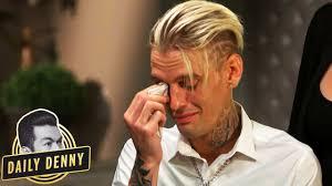 Aaron Carter Breaks Down in Tears Detailing the Events Surrounding ...