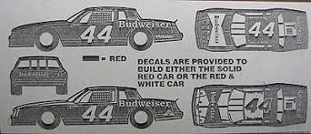 44 Terry Labonte 1983 Budweiser Monte Carlo Nascar Decal 519961838