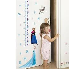 Lovely Elsa Anna Princess Wall Stickers Home Decoration Girls Wall De Frozenmerchandise