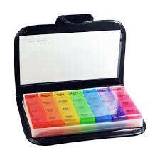 multi colour plastic 28 compartments