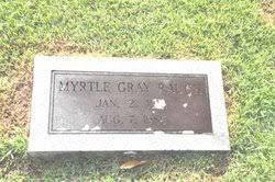 Myrtle Gray Rauch (1901-1986) - Find A Grave Memorial