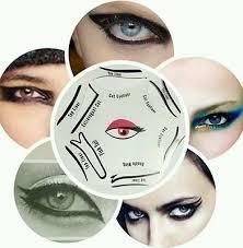 6 in 1 eyeliner stencil set makeup