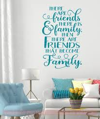 Family Quotes Decal Bit Loud Crazy Love Home Wall Decor Vinyl Stickers