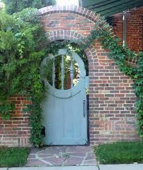 The Art Garden On The Street 10th Avenue Denver Brick Wall Gardens Wooden Garden Gate Garden Doors