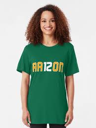 "AA12RON AARON Green Bay Football"" T-shirt by gstrehlow2011 | Redbubble"