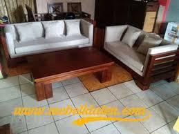 jual kursi sofa minimalis kayu jati