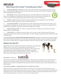 Why Choose The Ecolite Smartreceiver Collar Manualzz