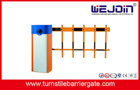 Ip44 Manual Parking Lot Boom Barrier Gate Arm With 2 Fence 3 Fence