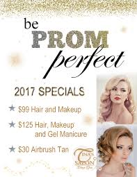 s for hair and makeup for prom