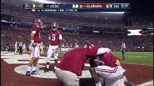 Alabama Vs. LSU 2013: Kevin Norwood GREAT jumping touchdown catch!!! -  YouTube