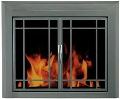 doors small smoked tempered glass