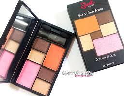 sleek makeup eye and cheek palette in