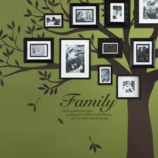 Family Like Branches On A Tree Quote Lettering Decal Wall Decal Chestnut Brown Walmart Com Walmart Com