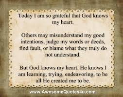 quotes about god knows the heart quotes