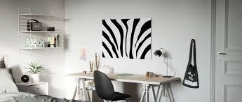 Zebra Texture Order Your Canvas Print Online Photowall