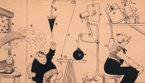 It's complicated: Life and work of Rube Goldberg at Philly's Jewish Museum  - WHYY