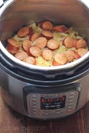 paleo instant pot kielbasa with