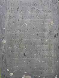 Abigail Brooks (1769-1770) - Find A Grave Memorial