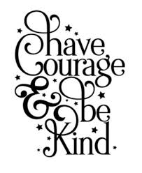 Have Courage Be Kind Wall Decal Philippians 413 Creations